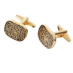 Địa Chỉ Bán MagiDeal Vintage Cufflinks Mens Roman Totem Cuff Link Wedding Party Gifts Anti Gold – intl   MagiDeal
