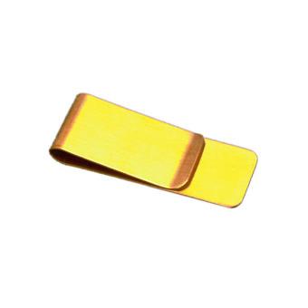 Man Blank Metal Money Clip Pocket Wallet Money Credit Card Holder(Intl)