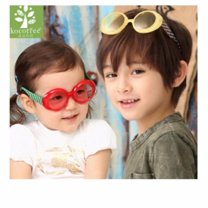 Mua Mát kính Kokotree Hàn Quốc cho bé từ 3 -6 tuổi (Vàng)