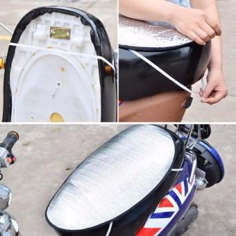 Miếng lót chống nóng bảo vệ yên xe máy