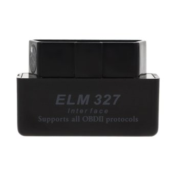 Mini ELM327 V2.1 Bluetooth OBD2 OBDII Car Auto Diagnostic ScannerBlack - Intl