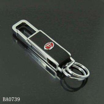 Móc chìa khóa logo xe Toyota ( Đen)
