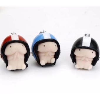 Móc khóa ciu đội nón bảo hiểm quá đẹp