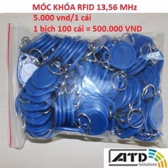 Móc khóa rfid 13,56 Mhz (loại mỏng)