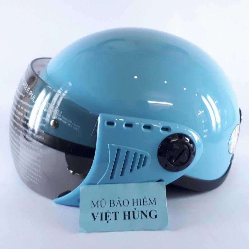 Mũ bảo hiểm GRS A08K (Xanh Nước Biển) (Mũ dành cho người đầu nhỏ hoặc trẻ em trung học phổ thông)