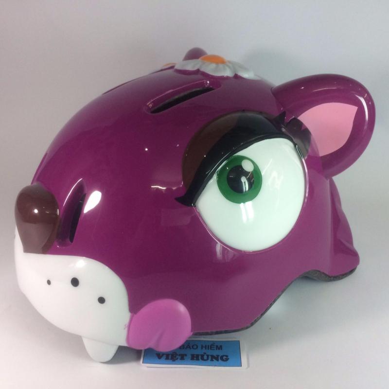 Mũ bảo hiểm trẻ em cao cấp GRS (Hình đầu thỏ bông)