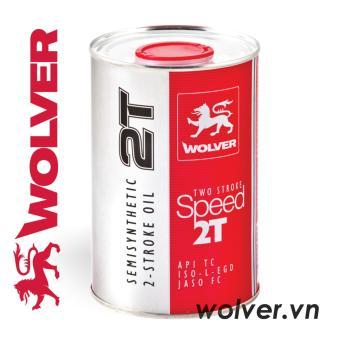 Nhớt 2 thì WOLVER TWO STROKE SPEED 2T nhập khẩu Đức