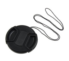 Nơi Bán niceEshop Black Universal 72mm Lens Cap with Cable for SLR Cameras   niceE shop