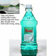 Nước Rửa Kính Xe Ô Tô Nano Ruki 2.5 lít