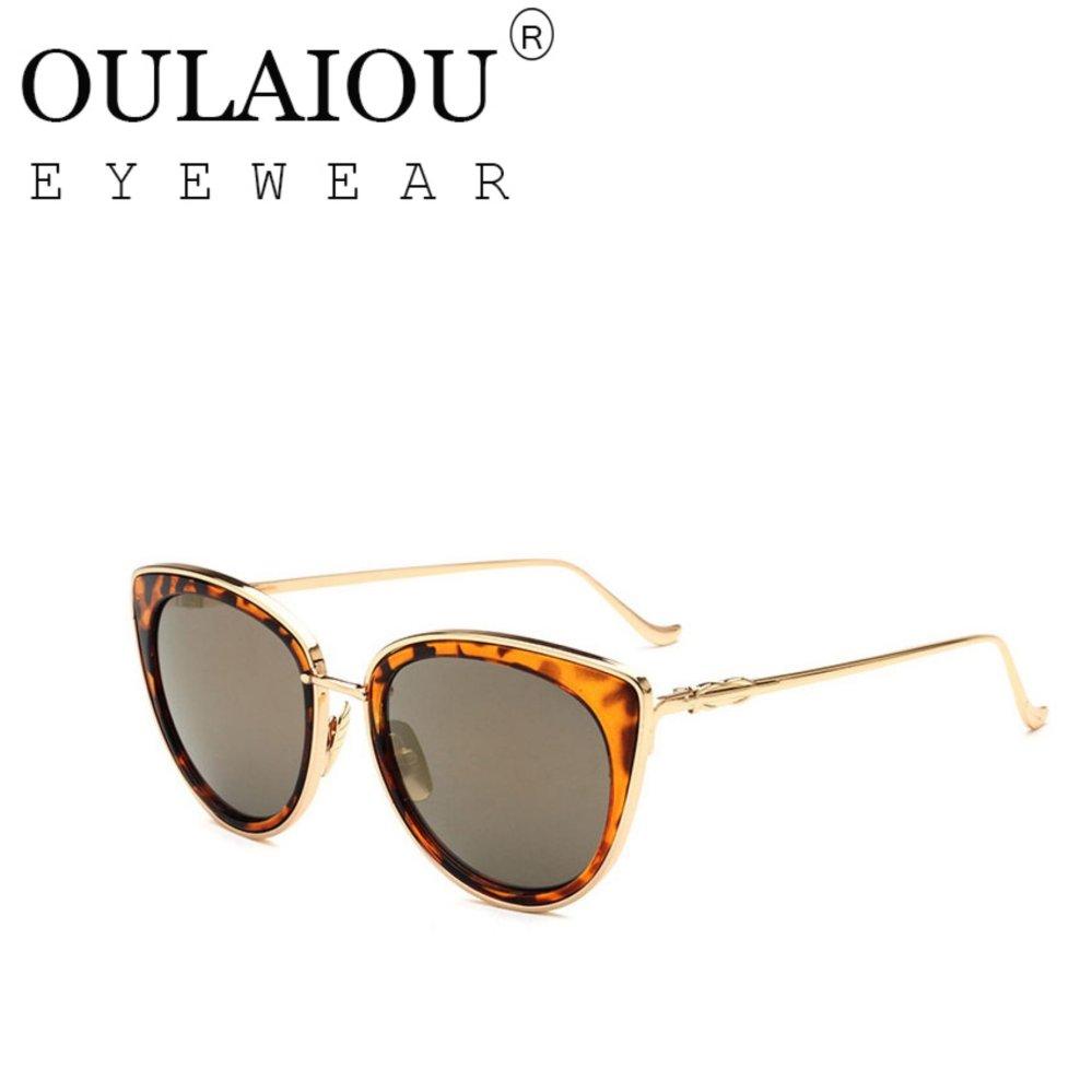 Mua Oulaiou Fashion Accessories Anti UV Trendy Reduce Glare Sunglasses O1706 intl .