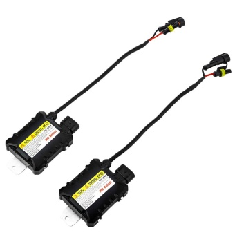 Pair Of 55W Car HID Ballast High Intensity Discharge Xenon Lamp -intl