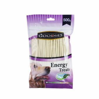 Que thức ăn vặt vị sữa size nhỏ cho chó Goodies S calcium 500gr