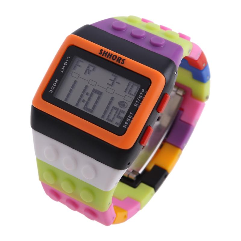 Retro Chic Unisex Digital Constructor Multi Function Watch Sports - intl bán chạy