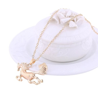 Running Horse Pendant Necklace Gold - intl - 8756818 , SP833OTAA99KXZVNAMZ-18368990 , 224_SP833OTAA99KXZVNAMZ-18368990 , 309000 , Running-Horse-Pendant-Necklace-Gold-intl-224_SP833OTAA99KXZVNAMZ-18368990 , lazada.vn , Running Horse Pendant Necklace Gold - intl