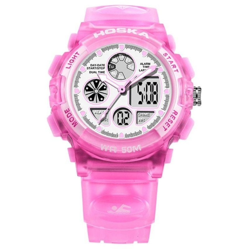 Nơi bán Skmei Women Quartz Watch Analog Digital LED Sports Outdoor Casual Wristwatch - intl