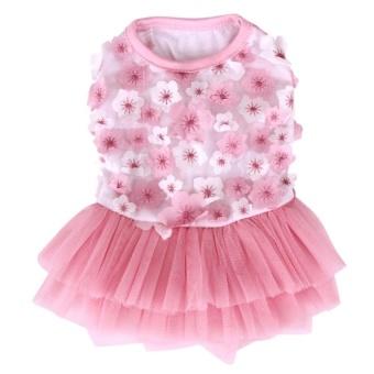 Small Puppy Dog Lace Princess Dress M 30*40*33cm (Pink) - intl - 8605967 , OE680OTAA8K4KUVNAMZ-16638784 , 224_OE680OTAA8K4KUVNAMZ-16638784 , 361620 , Small-Puppy-Dog-Lace-Princess-Dress-M-304033cm-Pink-intl-224_OE680OTAA8K4KUVNAMZ-16638784 , lazada.vn , Small Puppy Dog Lace Princess Dress M 30*40*33cm (Pink) - int