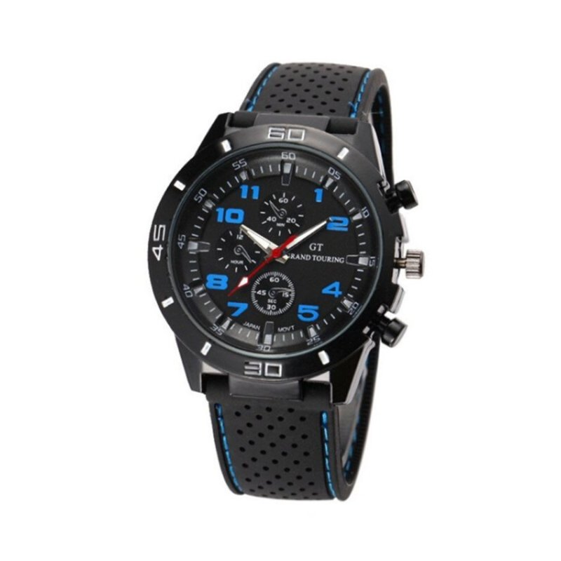 Nơi bán Sport Military Army Cool Wristwatch Blue(Not Specified)(OVERSEAS) - intl