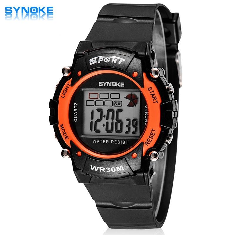 Nơi bán Sport Student Children Watch Jam Tangan Kids Watch Jam Tangan es Boys Girls Clock Child LED Digital WristWatch Jam Tangan Electronic Wrist Watch Jam Tangan 99038 - intl