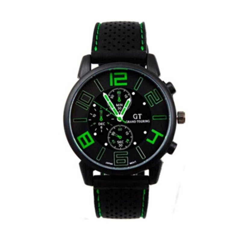 Nơi bán Sports Military Touring Quartz Brand Watch Green(Not Specified)(OVERSEAS) - intl