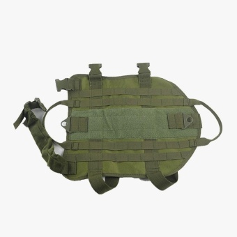 Tactical Outdoor Military Dog Clothes Adjustable Load Bearing VestHarness Army - intl