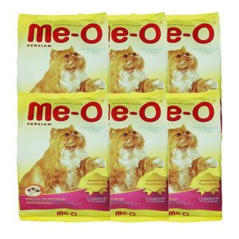 Thức ăn cho mèo Me-O Persian Anti Hairball - chống búi lông 6 túi 0.4kg
