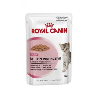 Thức ăn cho mèo Pate Royal Canin kitten instinctive (12 gói)