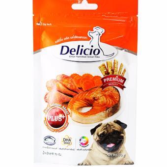 Thức ăn vặt cho chó Goodies Snack Delicio Chicken Carot