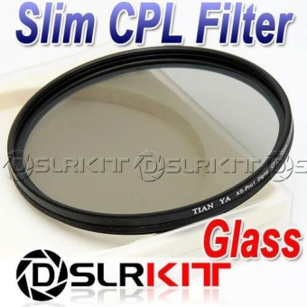 Tianya 82mm Glass Circular Polarizing CIR-PL Slim CPL Filter -intl- intl