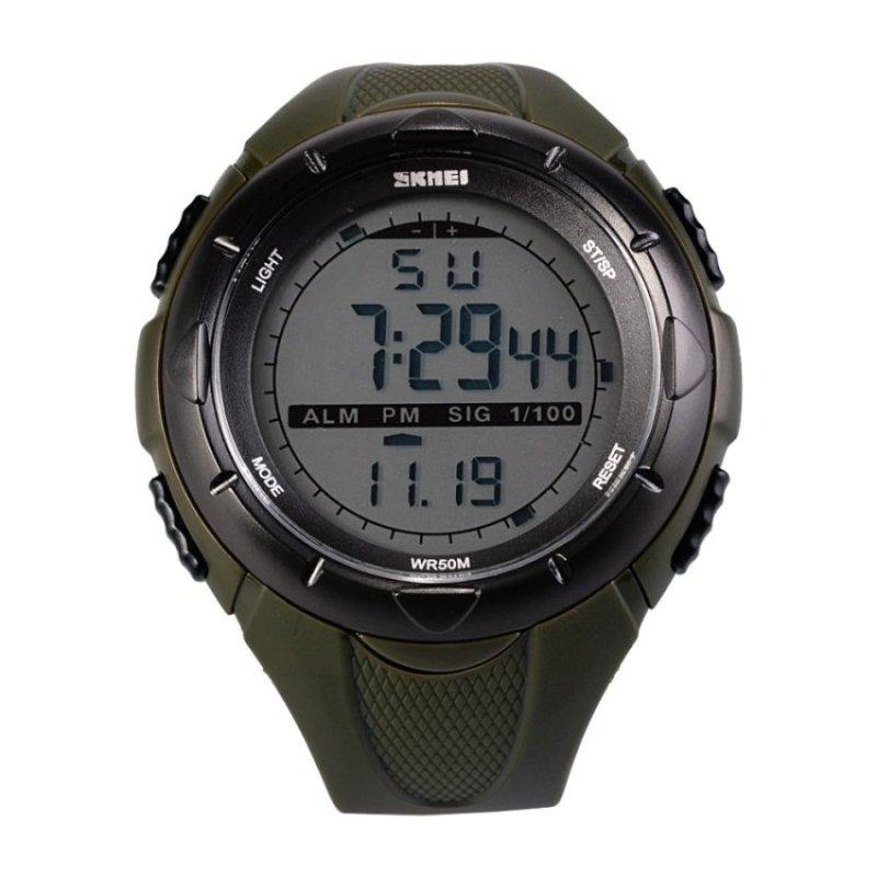Nơi bán Toprank Men Digital LCD Alarm Date Analog Watch(Not Specified)(OVERSEAS) - intl