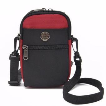 Túi đeo đai quần thắt lưng có móc khóa + Tặng dây Đeo chéo đa năngH142 - 3