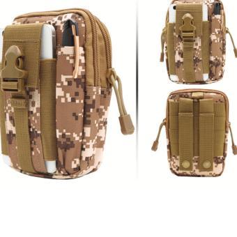 Túi đeo hông phong cách thể thao, tiện lợi đi du lịch TN03 (Đen) - 2