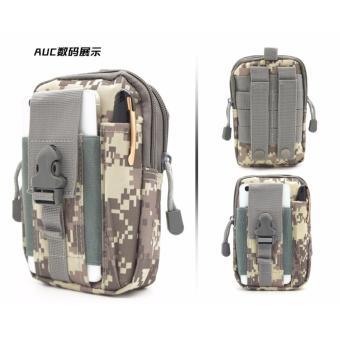 Túi đeo hông phong cách thể thao, tiện lợi đi du lịch TN03 (Đen) - 3