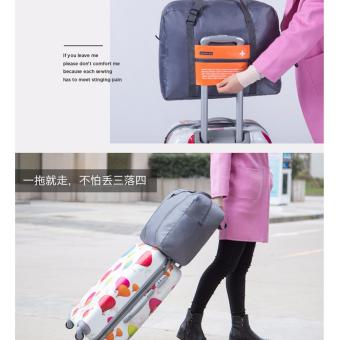 Túi du lịch chống thấm gấp gọn (Cam) - 2