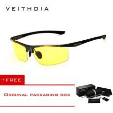 ราคา Veithdia อลูมิเนียมแม็กนีเซียมผู้ชายแว่นตากันแดดกระจกโพลาไรซ์เคลือบกระจกดวงอาทิตย์แว่นตาชายแว่นตาชายอุปกรณ์เสริมสำหรับผู้ชาย 6588 เป็นต้นฉบับ