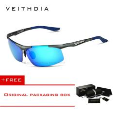 ขาย ซื้อ ออนไลน์ Veithdia อลูมิเนียมแมกนีเซียมผู้ชายแว่นตากันแดดผู้ชายโพลาไรซ์เคลือบแว่นตากระจกแว่นตาชายอุปกรณ์เสริมสำหรับผู้ชาย 6562