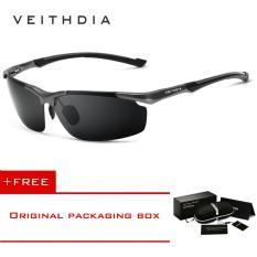 ซื้อ Veithdia แบรนด์อลูมิเนียมแมกนีเซียมแว่นกันแดด Polarized Uv400 แว่นตา Sun Oculos แว่นตาชายแว่นตากันแดดผู้ชาย 6592 ใน จีน