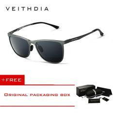 ส่วนลด Veithdia แว่นตากันแดดอลูมิเนียมเรืองแสงแว่นสายตาผู้ชายแว่นตากันแดดแว่นสายตาผู้ชายแว่นสายตา 6623