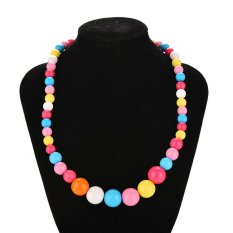 Bảng Giá Velishy Children Necklaces Large Color Bead Jewelry – intl  Veli shy