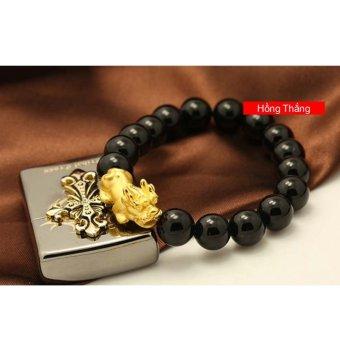 Vòng đeo tay tỳ hưu vàng