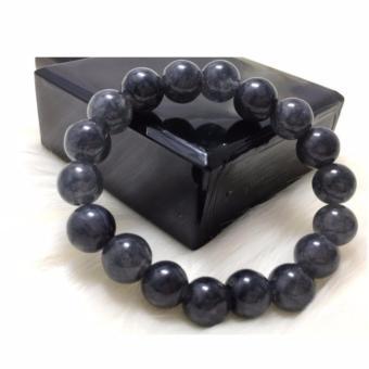 Vòng tay đá phong thuỷ màu khói đen TPO-2202
