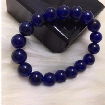 Vòng tay đá phong thuỷ màu xanh lam đậm TPO-2215