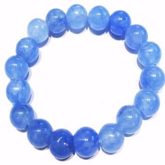 Vòng tay đá phong thủy màu xanh TPO-2201