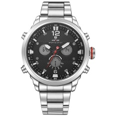 Thông tin Sp WEIDE WH6303 Outdoor Sports Waterproof Men's Stainless Steel Strap Watches Silver Black – intl  NanXiangZi