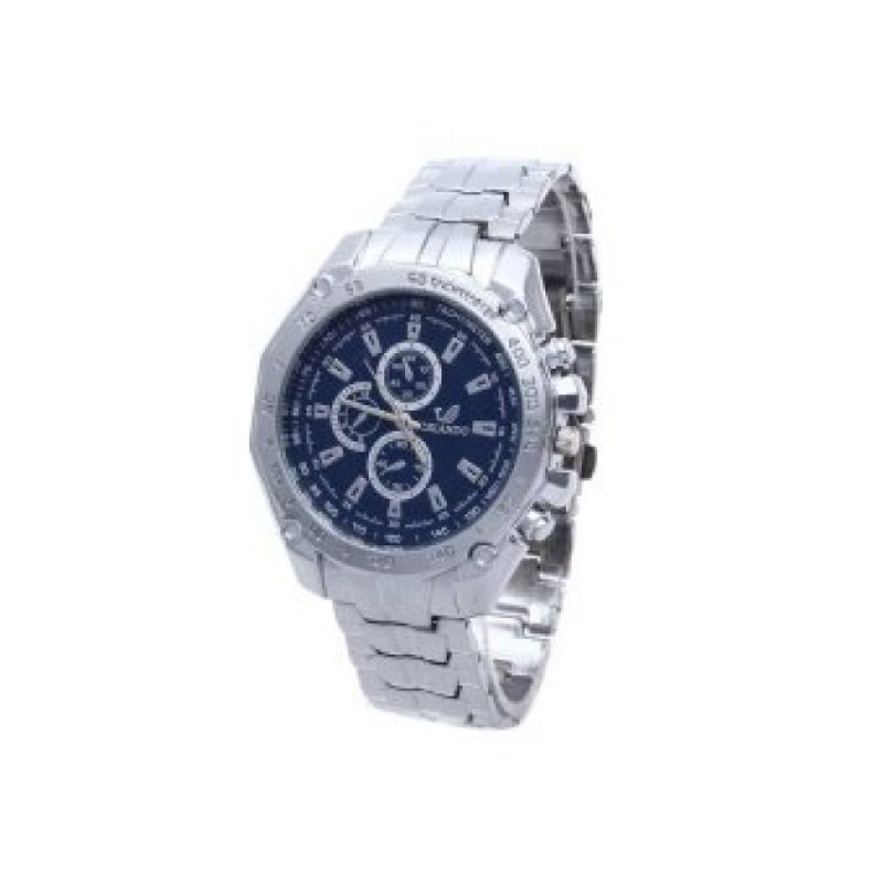 Nơi bán WSJ Alloy BandMovement Wrist Watch Blue/Silver - intl