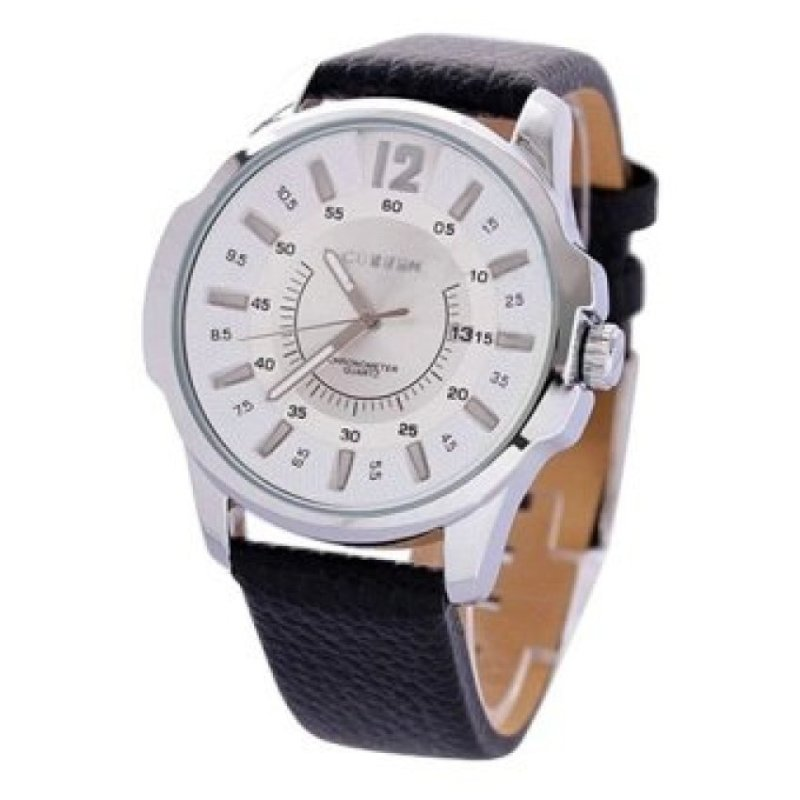 Nơi bán WSJ Silver Stainless Steel Silver Leather Watch(Not Specified)(OVERSEAS) - intl