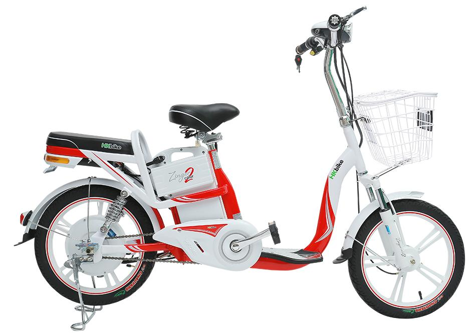 Xe điện Zinger Color2 (Đỏ trắng)