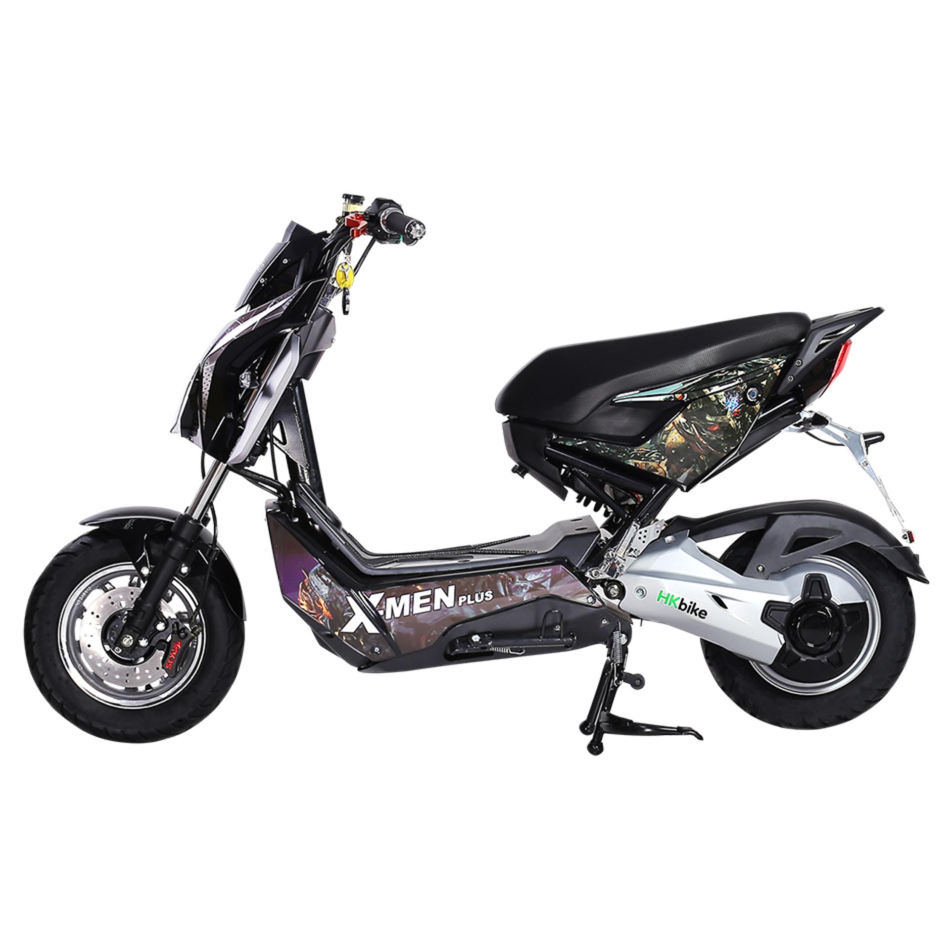 Xe máy điện HKbike Xmen Plus (màu Đen)