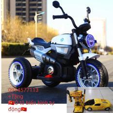 Xe máy điện trẻ em BQ-8188 (tặng ô tô biến hình tự động)