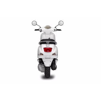 Xe tay ga Piaggio Vespa LX 125 3V i.e (Trắng) - Tặng ngay 1 khung bảo vệ với 1 thảm lót sàn