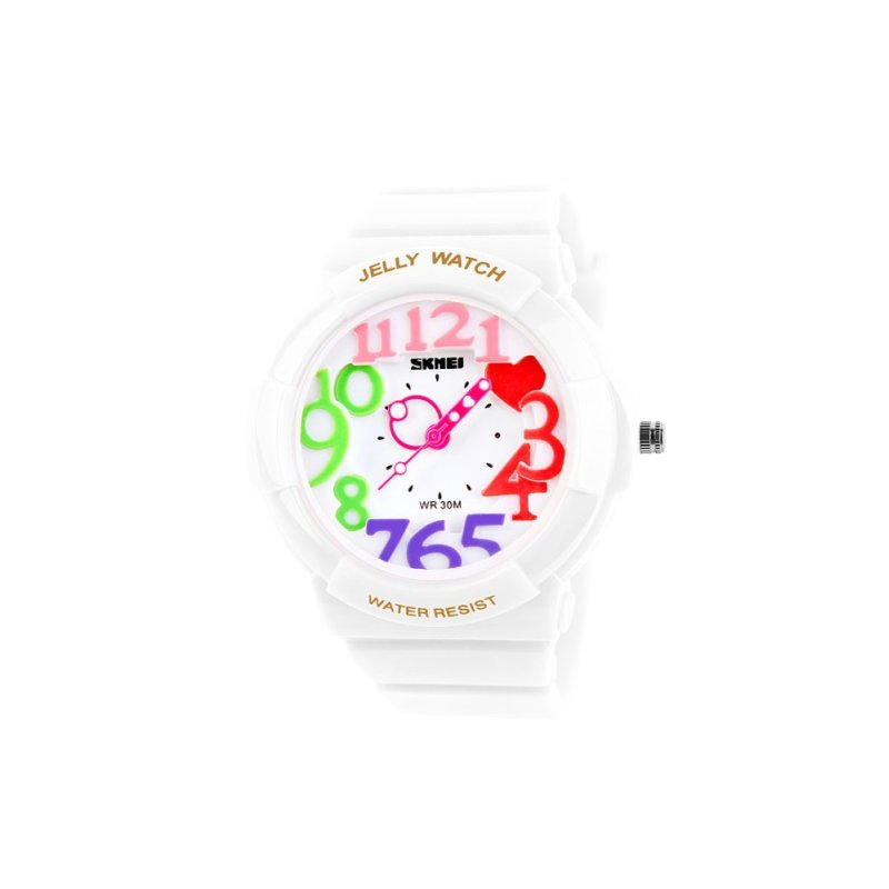 ZUNCLE SKMEI Female Wild Cool Sports Digital Watch (White) - intl bán chạy